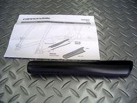 キャノンデール ハードテイルチェーンプロテクター 税込¥1,575  軽量で衝撃に強い、ABS樹脂製のキャノンデールオリジナル