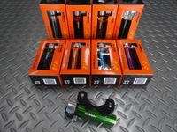 エアボーン ブラボーポンプ カラー/ブラック・オレンジ・ブルー・パープル・シルバー・レッド・ゴールド・グリーン サイズ/99×21mm 重量/49g 本体価格¥2,300 長さ99mmの携帯ミニポンプ。バックポケットやサドルバッグにもコンパクトに収まります。 カラー/ブラック カラー/オレンジ カラー/ブルー カラー/パープル カラー/シルバー カラー/レッド カラー/ゴールド カラー/グリーン…[Posted at 15/03/25]