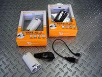 オウルアイ ヘッドライト ハイラックス30 カラー/ホワイト・ブラック サイズ/L72×W42×T31mm 重量/58g 税込¥4,830 超高輝度1.8ワット ハイパワーLED 乾電池不要のUSB充電式ヘッドライトです。ハイモード・通常点灯・点滅 の3モードに切り替わります。 付属の充電用USBケーブルを使用して、パソコンなどのUSB端子と本体を接続します。急速充電 約3時間で充電が完了します…[Posted at 12/10/24]