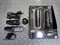 キャットアイ ボルト300 キット サイズ/111.5×31.0×38.0mm 重量/120g(カートリッジバッテリー含む) 本体価格¥10,500 超高輝度LEDを採用した、小型・軽量充電式ハイパワーライトです。ハイ ・ ノーマル ・ ロー ・ ハイパーコンスタント  ・ 点滅の5モード点灯。 ライト本体(HL-EL460RC)と急速充電クレードル(CRA-001)・カートリッジバッテリー(B…[Posted at 15/05/30]