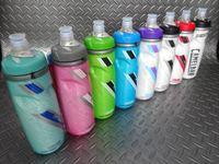 """キャメルバッグ ポディウムチル ボトル サイズ/21オンス(620ml) 本体価格¥1,750 重構造+断熱素材で、非保冷ボトルの"""" 2倍 """"の保冷性。  冬は暖かい飲み物の保温も可能です。 カラー/メトリックミント カラー/ベースピンク カラー/スプリントグリーン カラー/ブレイクアウェイブルー カラー/パープル カラー/ブラック カラー/レッド カラー/レースエディション 医療用シリコン素材…[Posted at 16/04/08]"""