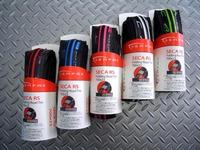 サーファス セカレーシング タイヤ カラー/レッド×BK・ブルー×BK・ピンク×BK・ホワイト×BK・グリーン×BK サイズ/700×23C  重量/190g 税込¥3,990 センターには転がり抵抗軽減をサイドにはコーナーリング性能をを高めた硬さの異なるコンパウンドを使用したロード用タイヤです。 カラー/グリーン×BK センター部は耐久性を高める硬めの60デュローメーターコンパウンド。 サイド…[Posted at 11/06/15]