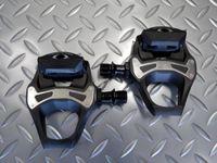 シマノ PD-5800 105 重量/285g (クリート 70g) 本体価格¥11,455 SPD(シマノ・ぺダリング・ダイナミクス)-SL ペダルは、パワーを高効率に伝達するためにシマノシューズとトータルに設計され、世界のレースで磨き上げられてきたロードペダルです。 カーボンコンポジットボディ採用です。ワイドな踏面、優れたステップイン・アウトなどSPD-SLの高い性能を搭載するベーシックモデ…[Posted at 18/04/06]