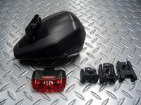 """フィジーク サドルバッグ テイク & キャットアイ ラピッド3 容量/0.6ℓ 税込¥6,000 フィジークのアクセサリー取付け機構 """" ICS """" 対応サドルに直接取付けできるサドルバッグとキャットアイ ラピッド3 がセットになったモデルです。 テイクバッグ本体とキャットアイ ラピッド3 テールライトの他に、バッグ用ブラケット×1個 ライト用ブラケット×2個(長、短 1個ずつ) 単3電池×1個…[Posted at 13/02/13]"""
