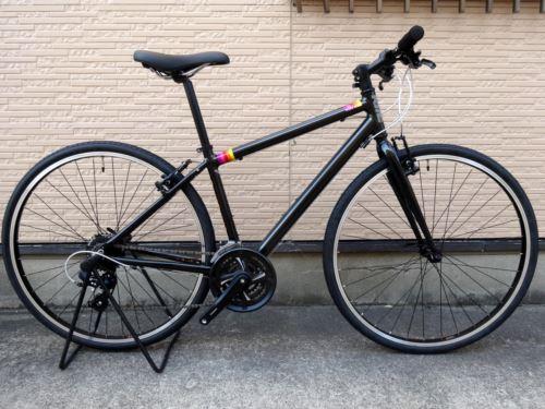 """ライトウェイ シェファード シティ  カラー/サンセットブラック  サイズ/460  本体価格¥53,000 日本人の体型とライフスタイルに合わせて初めてでも無理なく乗れる独自のフレーム設計で近所へのお買い物からちょっと距離のあるお出掛け、ツーリングまでスポーツバイクのある"""" ライフスタイル """"が楽しめる ライトウェイ オルリジナルブランドです。 信頼の 『 フル シマノスペック 』 です。  …[Posted at 16/08/26]"""