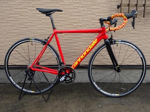 Cannondale CAAD12 COLORS S-Rinten Version カラー/RACE RED / CANNONDALE YELLOW - グロス    サイズ/52  本体価格¥250,000 CAAD12 カラーズ フレームセットを使用して完成車に組立例のご紹介です。 このバイクはCAAD12カラーズの当店のサンプル車です。限定1台のみの特別価格です。 『 選べる22色 』 か…[Posted at 18/03/30]