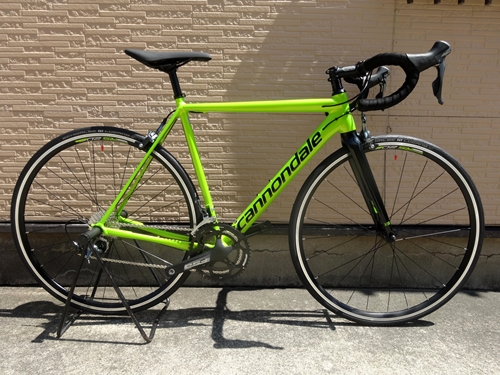 Cannondale CAAD12 TIAGRA カラー/Acid Green w / Jet Black - Gloss - AGR サイズ/52 本体価格¥150,000 …[Posted at 17/09/04]