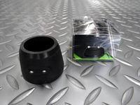 キャノンデール ヘッドセットスペーサーライト 30mm カラー/ブラック 本体価格¥3,600 ステム下のスペーサーと入れ替えてセットする、キャノンデールオリジナルの斬新なフロント用セーフティライトです。 前から。 目立たないですが2個のLEDが埋め込まれています。 高い強度を持つ樹脂製の本体にライトシステムを搭載。シリコンのカバーで全体を覆っており雨天時も使用できます。 電池の交換はこのシリコ…[Posted at 14/01/22]