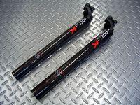 FSA SL-K SBS SB20 サイズ/径27.2mm ・ 径31.6mm 重量/236g(径31.6mm) 税込¥8,925 高性能パーツを多くリリースするFSA製のカーボンファイバーを使用した軽量なシートポストです。  シートポスト等の高い位置にあるパーツが軽くなると、ダンシングやコーナリングなど様々な動きが軽快になります。 またアルミ製のシートポストから高性能なカーボンシートポストに変…[Posted at 12/01/14]