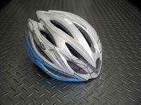 OGKカブト リガス レディース 2 カラー/リングパールブルー サイズ/S・M(1サイズ) 税込¥12,600 細身のシルエットを実現した女性専用モデルです。頭をやさしく包み込む、快適フィッテイング設計モデル。JCF(日本自転車競技連盟)公認モデルです。各種レースに使用できます。 バイザーが標準装備されています。 まぶしい日差しが直接目に当たりにくいように、また雨天時には水滴を当たりにくくしま…[Posted at 12/08/29]
