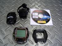 ベッタ RT288L ワイヤレススピード サイズ/51×52mm 税込¥4,998 ワイヤレススピード計測とバックライト機能を備えた、サイクルコンピューター。 ワイヤレス通信により、わずらわしいケーブル類がなくバイクにスッキリ装着できます。 見やすい大型ディスプレーで、走行速度・平均速度・最高速度・走行距離・積算距離・走行時間・24時間時計・平均速度と現在速度の比較の表示・メンテナンス時期を設定…[Posted at 11/11/03]