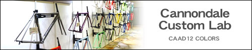 Cannondale  2019'モデル 展示会 Cannondale Custom Lab CAAD12 COLORS