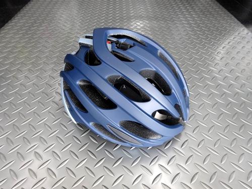 """レイザー ブレイドプラス アジアンフィット  カラー/マットブルー×グレー サイズ/L (58~61cm) 本体価格¥10,000 (10%税込価格¥11,000) 100年を超える歴史を持つベルギー発祥のヘルメットブランド 『LAZER (レイザー)』 上位モデルの軽量性と機能性を受け継いだパフォーマンスの高いモデル、""""ブレイドプラス AF"""" は、日本人の頭の形に合う """"アジアンフィット"""" モ…[Posted at 21/05/15]"""